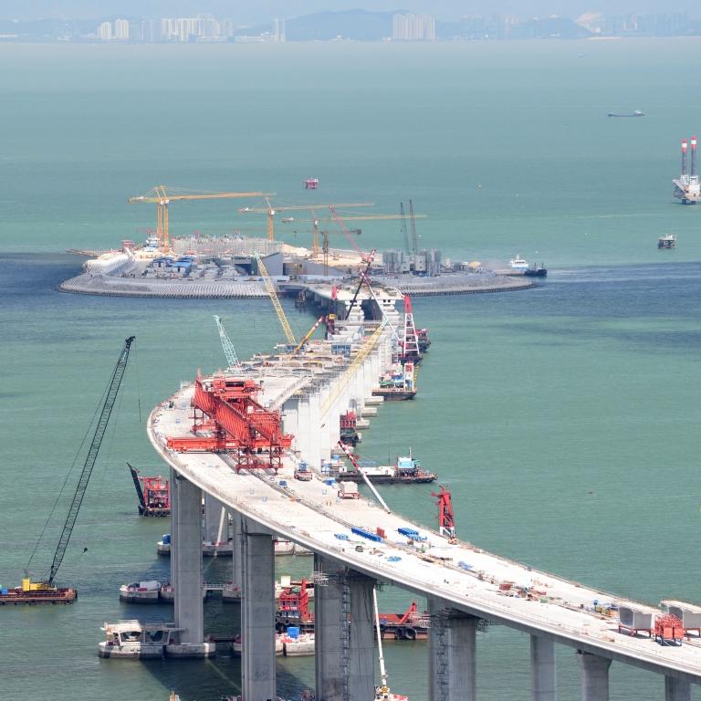 Hong Kong - Macau-Zhuhai Bridge, Tuen Mun, Chaplakok
